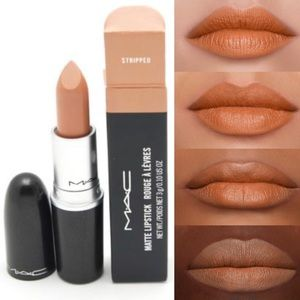 M·A·C Matte Lipstick Stripped Full Size